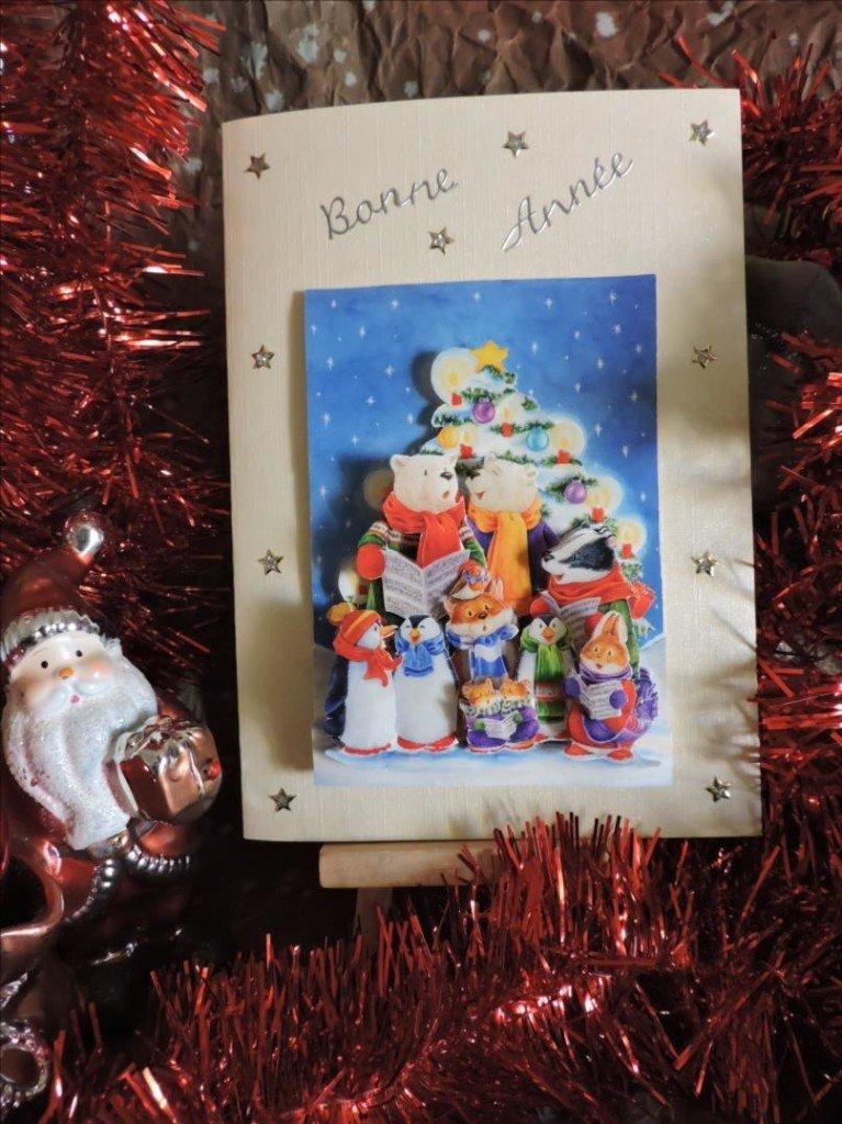 Carte 3D - Noël 2017 - Chorale hivernale devant le sapin de Nöel-DSCN0821