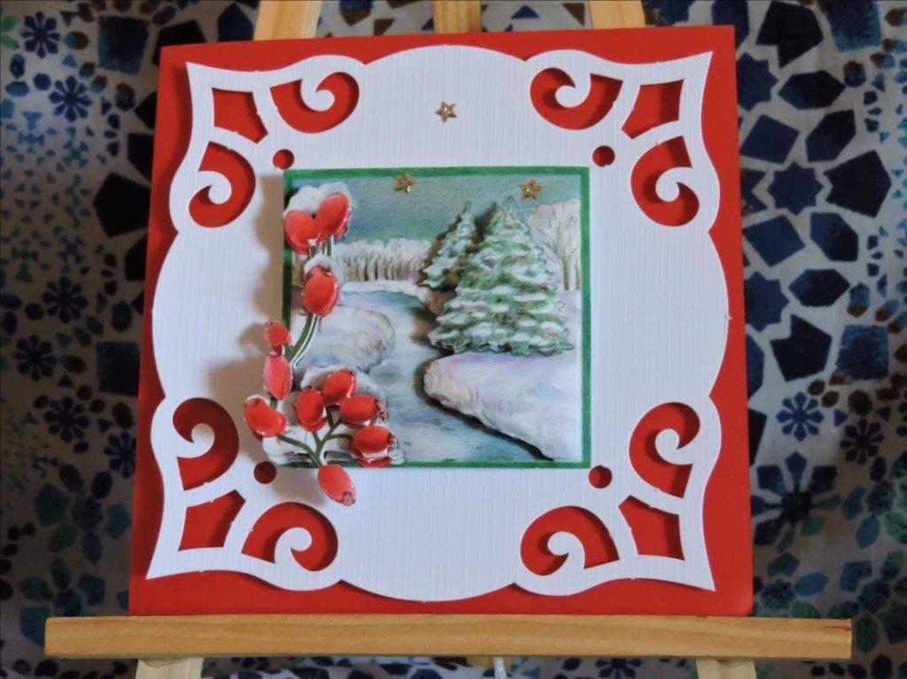 Carte 3D - Noël 2017 - La rivière gelée-DSCN0785