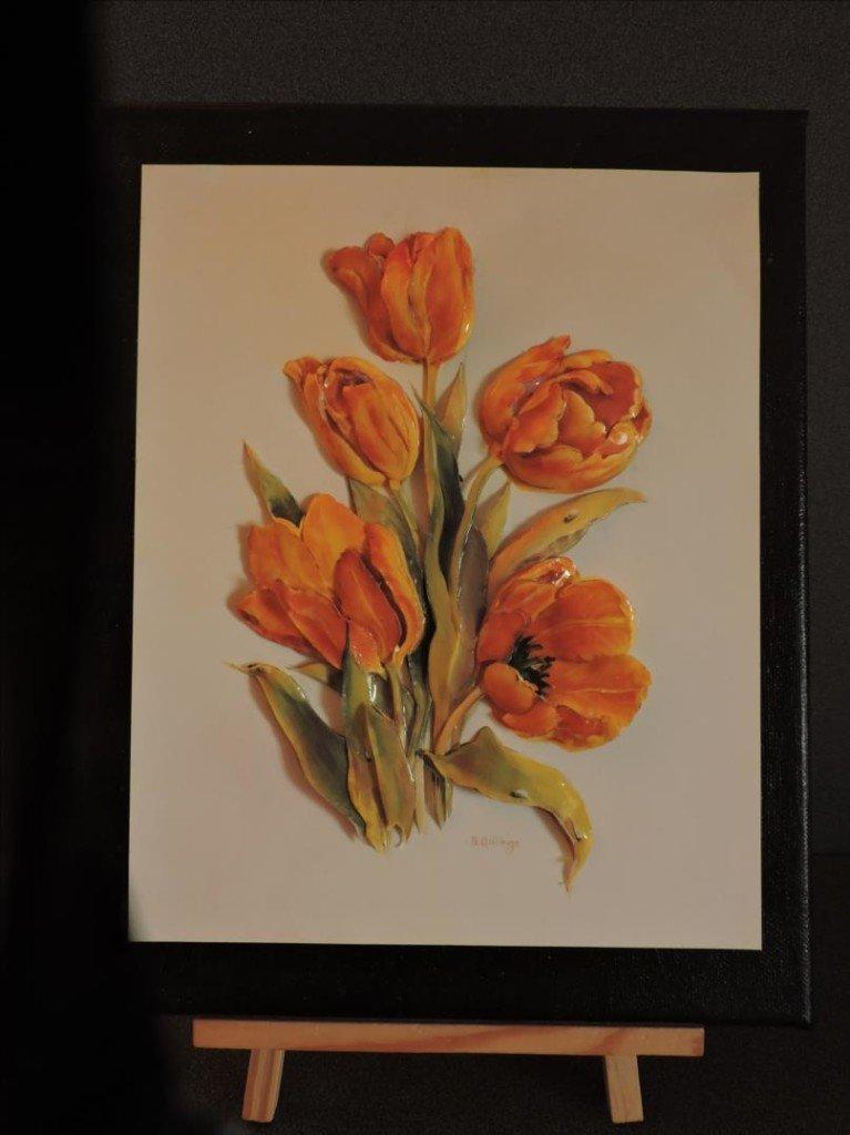 Noël 2017 - Tulipes Jaunes-DSCN0740